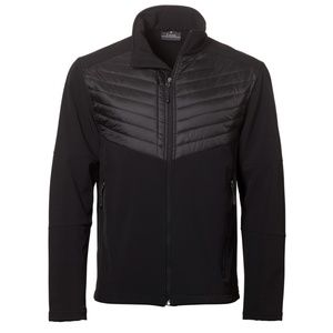 FOSSA Aurora Soft Shell Fleece Lined Black Jacket